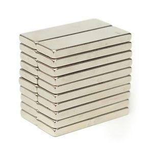AIMANT 20pcs N50 Aimants Néodyme Bloc Magnet Puissant Ter