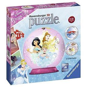 PUZZLE Ravensburger- Puzzle 3D Rond 72 pièces Princesses