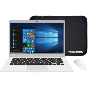 ORDINATEUR PORTABLE THOMSON PC Portable + Souris + Sacoche - TH14WH64M