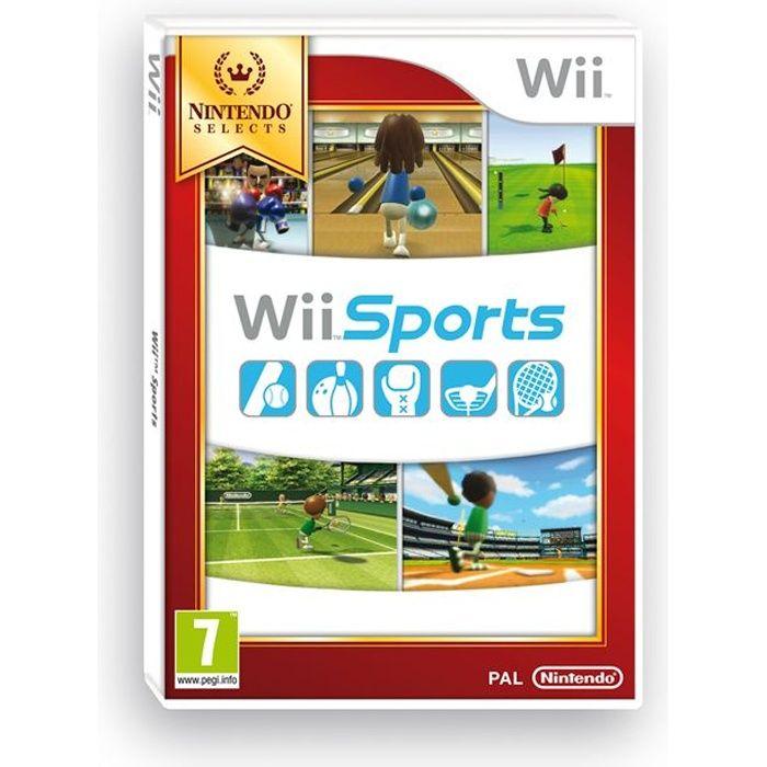 JEU WII Wii Sports Selects Jeu Wii