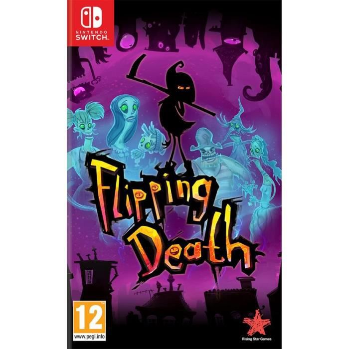 Flipping Death Jeu Switch