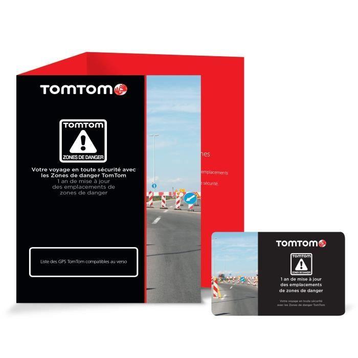 TOM TOM - Service de mise à jour des emplacements de zones de danger 1 an