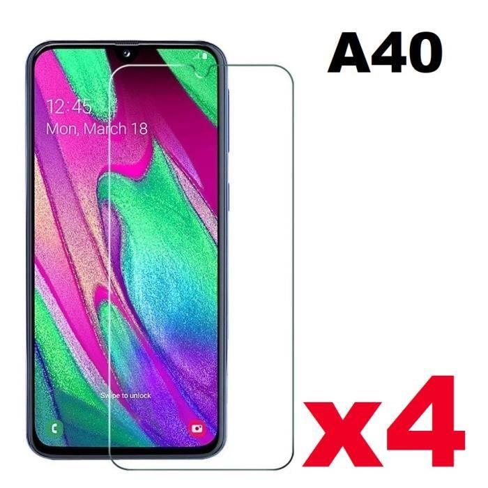 protege ecran verre trempe samsung galaxy A40
