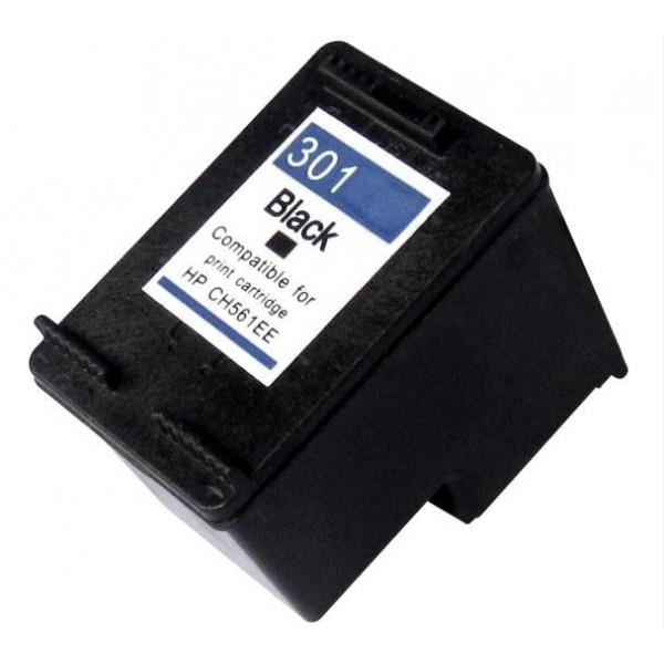 Cartouche encre equivalent Type HP301BK grande capacite pour HP Envy 4500 e All in One