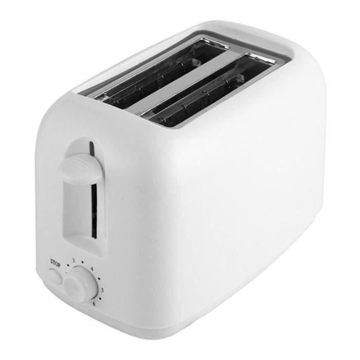Machine De Cuisson De Pain De Petit Déjeuner électrique Automatique à 2 Tranches