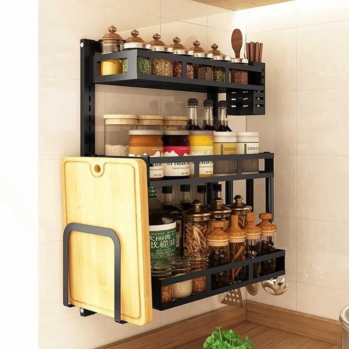 Des étagères de cuisinedes comptoirs multifonctionnels murauxdes étagères à épices multifonctionnellesdes planches à découper peuv