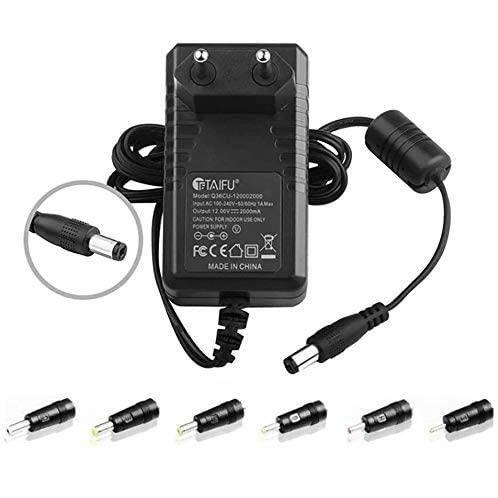 TAIFU Bloc d'alimentation Universel 12V 220V Chargeur pour Thomson Neo 14C-2BK32 SP-NEOX13.2GR32, Lecteur DVD Portable Takara Div 10
