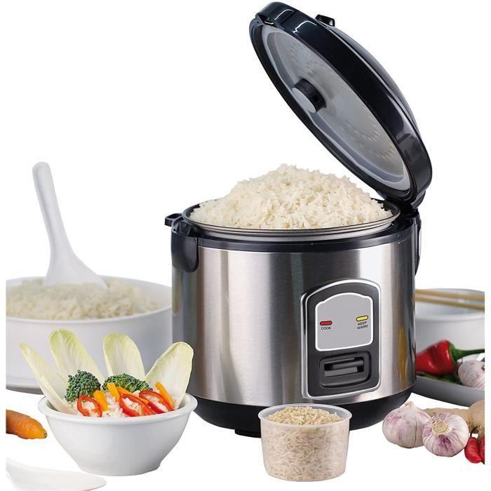 CUISEUR A RIZ ur agrave riz Capaciteacute 18 l Puissance 700 W Fonction maintien au chaud Cuve inteacuterieure Verre doseur79
