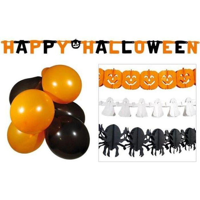 Kit Décoration Halloween Ignifugé