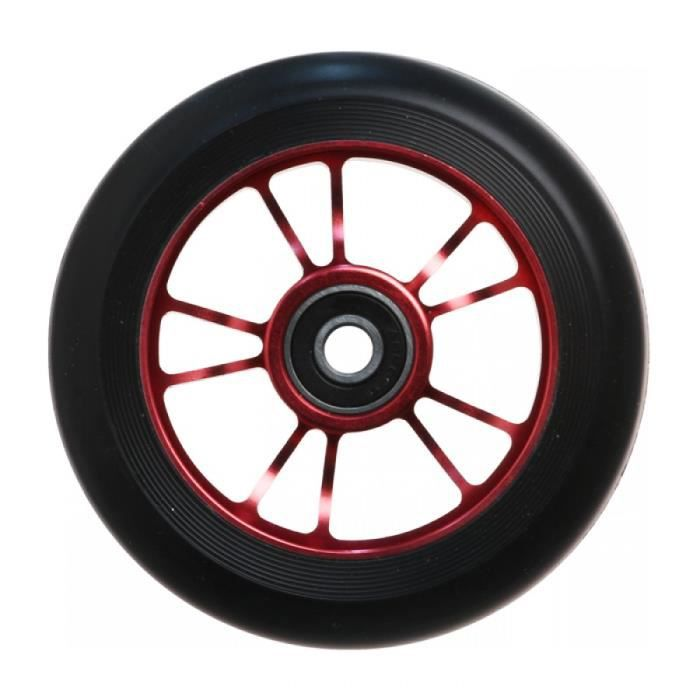 Blunt Roue trotinette Freestyle 10 spokes 100mm rouge noir