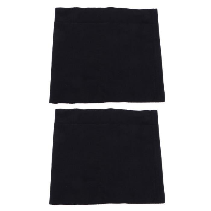 2 pcs Noir Corps Shaper Gaines Récupération Post-partum Mince Sangle Abdominale Minceur Taille Wraps APPAREIL ABDO - PLANCHE ABDO