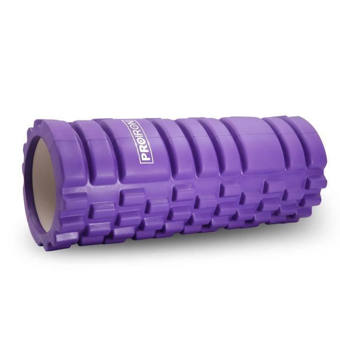 PROIRON Foam Roller Fitness Rouleau de Massage Violet