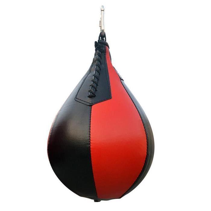 Sac de Coup de Poing Poire de Boxe de Combat Boule de Vitesse de Coup de Poing de Boxe de Gymnastique Accessoires de Boxe