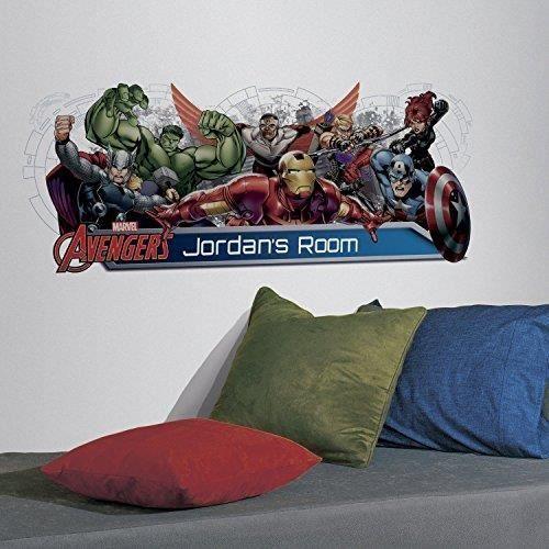 RoomMates RMK2240GM The Avengers personnalisation tête de lit et de décorations murales
