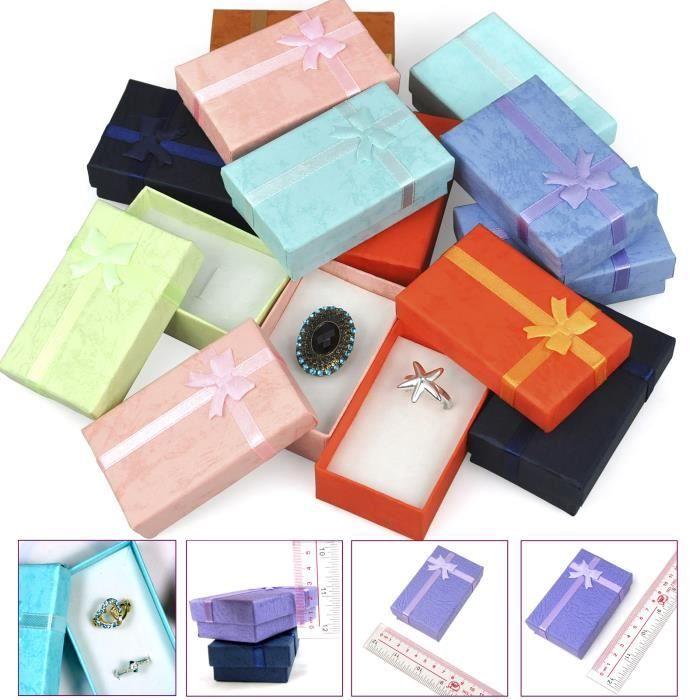 Superbes Boîtes à Cadeaux de Luxe Rectangulaires Courbes pour Présentation de Bijoux