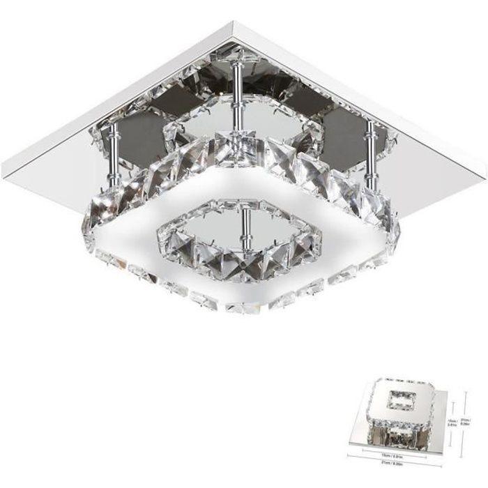 Lustre moderne en cristal pour salon, chambre à coucher, Salle de bain