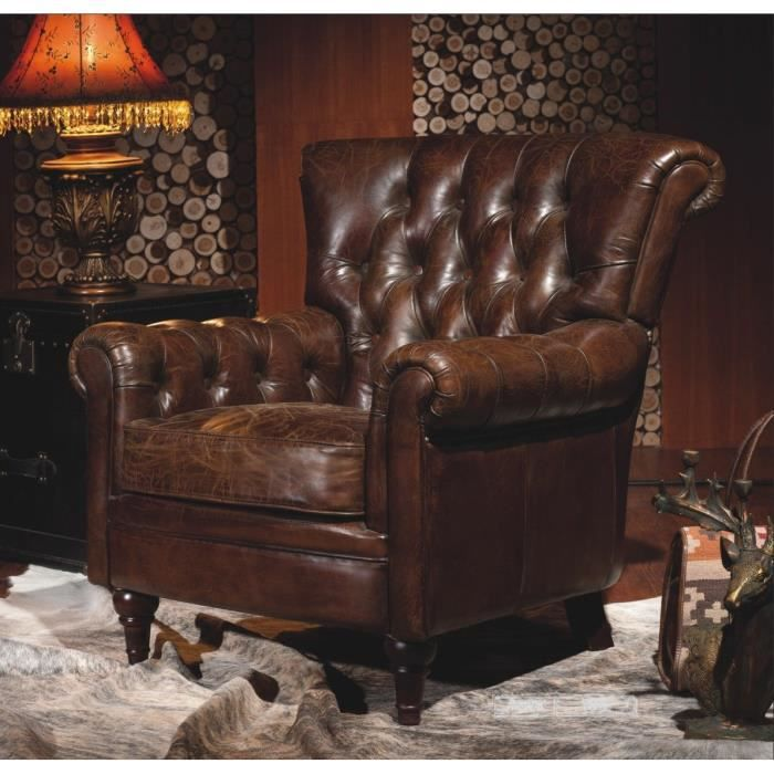 fauteuil chesterfield. Black Bedroom Furniture Sets. Home Design Ideas