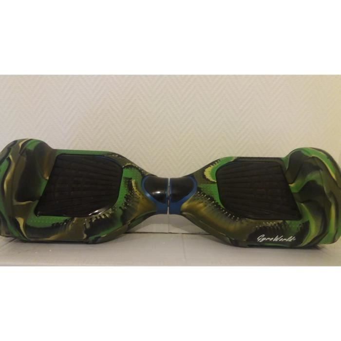 coque silicone militaire pour hoverboard gyropode. Black Bedroom Furniture Sets. Home Design Ideas