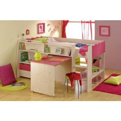 lit combin et bureau enfant lola achat vente lit combine cdiscount. Black Bedroom Furniture Sets. Home Design Ideas