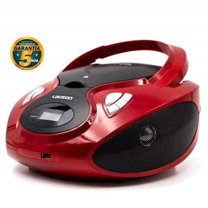 RADIO CD CASSETTE Lecteur CD Bluetooth Radio Portable USB. Radio Sté