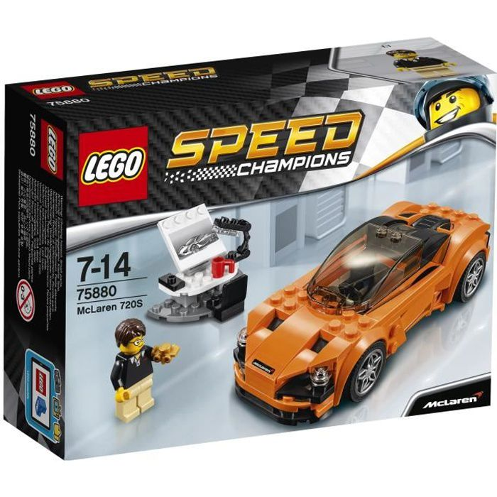Lego® 720s Voiture Speed Mclaren Champions 75880 2WED9HI