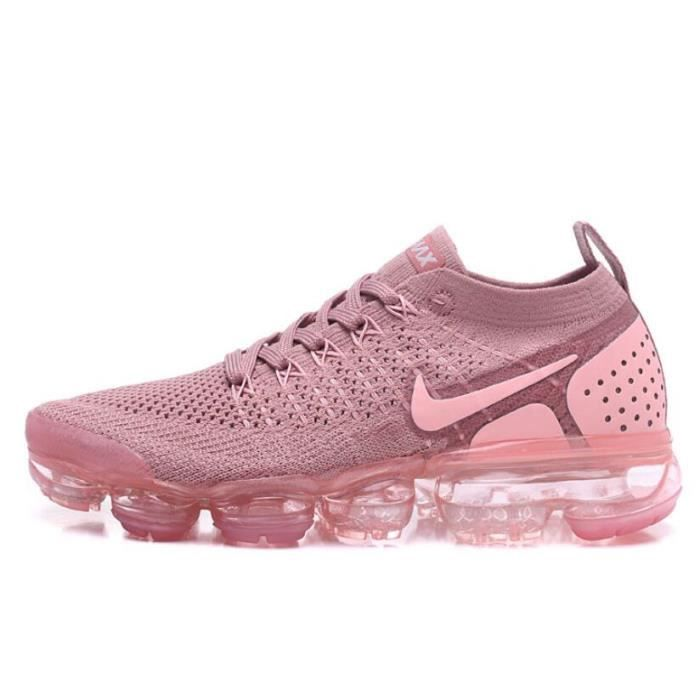 Nike Air VaporMax Flyknit 2 Chaussure pour Femme Rose Rose ...