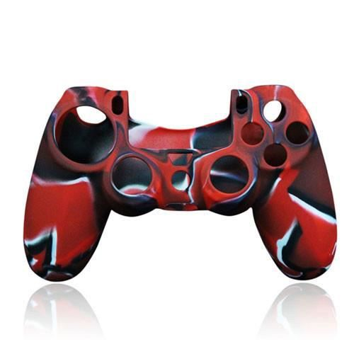 coque silicone manette ps4 rouge prix pas cher. Black Bedroom Furniture Sets. Home Design Ideas