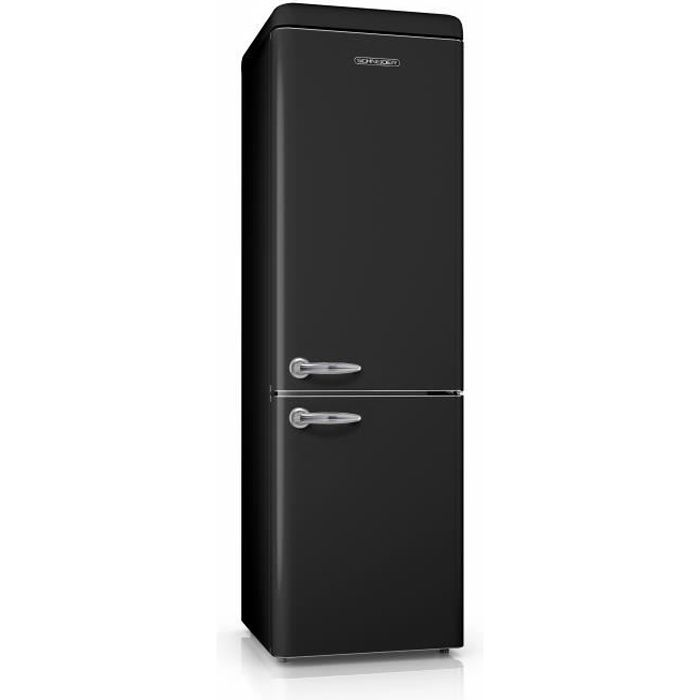 meilleur refrigerateur combine noir pas cher. Black Bedroom Furniture Sets. Home Design Ideas