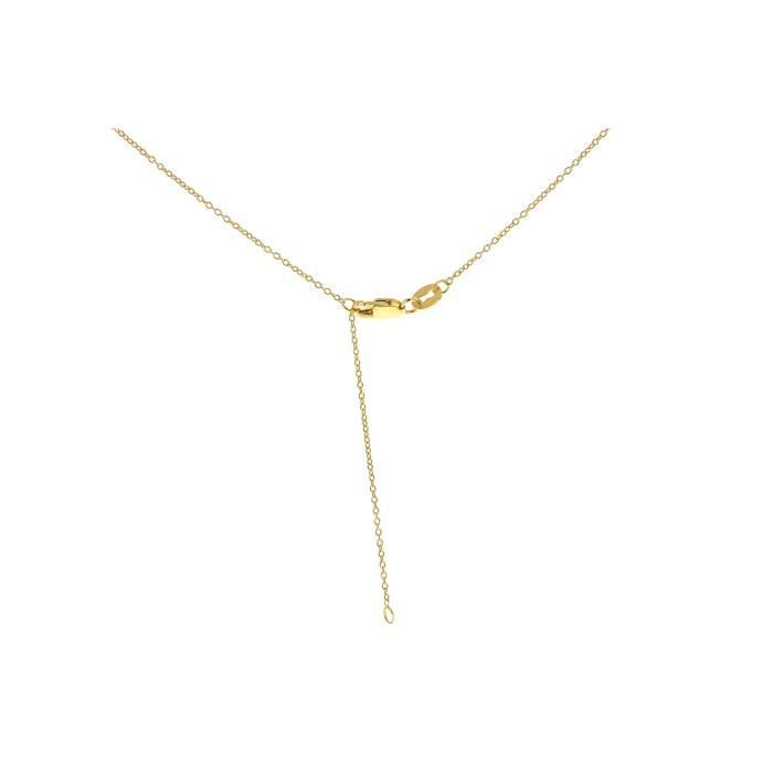 Collier Court - Or Jaune 9 Cts - 46 Cm - 1.19.7004 Z8P0R