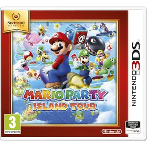 JEU 3DS Mario Party Island Tour Jeu Select 3DS