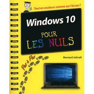 SYSTÈME D'EXPLOITATION Windows 10 pour les nuls : pas à pas