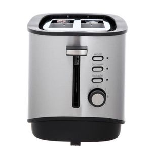 GRILLE-PAIN - TOASTER GRILLE PAIN INOX FULL INOX DEUX LARGES FENTES MEGA