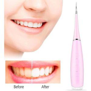 NETTOYANT APPAREIL DENT Détartreur dentaire électrique Nettoyeur de calcul