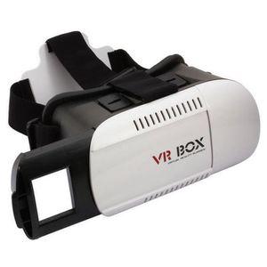 LUNETTES 3D CASQUE VR BOX NOIR pour Samsung Galaxy note 4