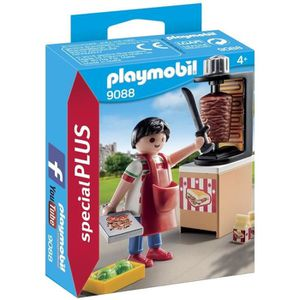 UNIVERS MINIATURE PLAYMOBIL 9088 - Vendeur de Kebab