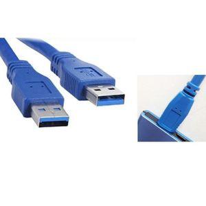 CÂBLE TÉLÉPHONE 3FT / 1M USB 3.0 type A mâle à type A Cord Male Ex