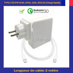 CHARGEUR - ADAPTATEUR  Lite-an Chargeur USB-C PD Pour Apple MacBook Pro 2