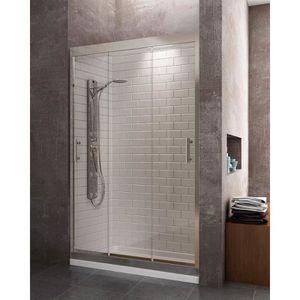 Porte de douche 120x195cm coulissante en niche mod/èle de Roution