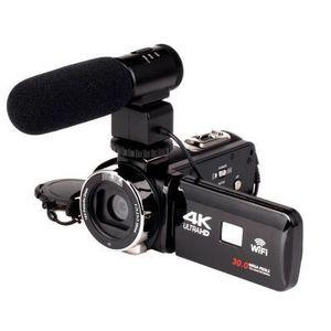 CAMÉSCOPE NUMÉRIQUE Appareil photo numerique caméra 4K Caméscope Wifi