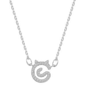 """8-5 18/"""" Argent chaîne courte collier collier tour de cou fille Plant ginkgo Leaf Pendentif"""