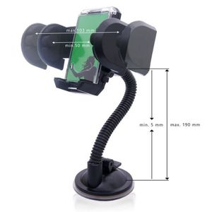 FIXATION - SUPPORT Support Voiture pour HTC  Desire 300