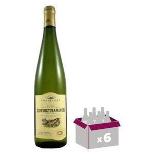VIN BLANC Gewurztraminer Vin d' Alsace - Blanc - Sec - 75 cl