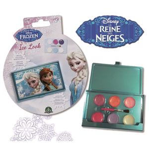 MAQUILLAGE LA REINE DES NEIGES Palette Maquillage Ice Look -