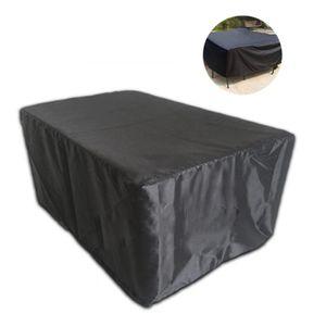 HOUSSE MEUBLE JARDIN  housse de table rectangulaire de protection extéri