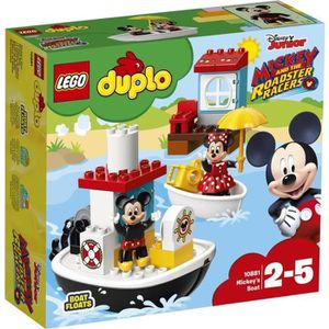 ASSEMBLAGE CONSTRUCTION LEGO® DUPLO® Disney™ 10881 Le Bateau de Mickey