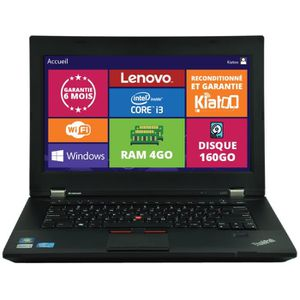 ORDINATEUR PORTABLE ordinateur portable Lenovo Thinkpad L430 intel cor