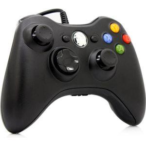 MANETTE JEUX VIDÉO Contrôleur Manette de Jeu Filaire Xbox pour PC & X