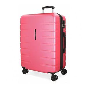 VALISE - BAGAGE Grande valise 79cm Movom Turbo rose -79x55x32cm
