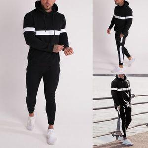 Ensemble de vêtements Survêtement de survêtement pour hommes Automne Hiv