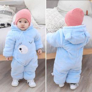 Bébé garçon//fille ange body combinaison combinaison de ski costume manteau 0-9 m